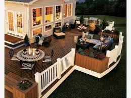 Backyard Deck Design Ideas Classy Pin By Ruby Toubanne On Décor R Pinterest