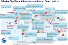 Global Climate Report Annual 2014 State Of The Climate
