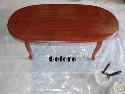 table makeover with annie sloan old