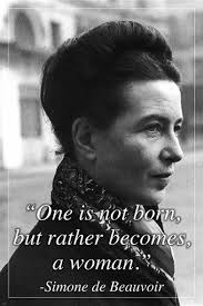 Simone De Beauvoir Quotes Adorable SIMONE DE BEAUVOIR French Writer MOTIVATING QUOTE POSTER 48X48