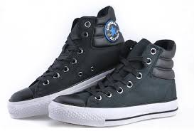 converse shoes high tops. converse chuck taylor all star black ct as specialty padded collar high top leather shoes tops s