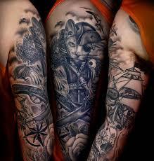 Tattoo Pirate Cat My Works