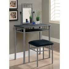 Bedroom Simple Great Gray Metal Bedroom Vanity Designed With