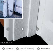 garage door vinyl trim installing wageuzi experience how install unique stop molding weather stripping