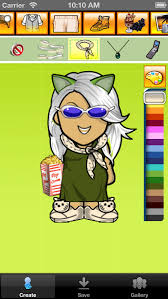 avatar cartoon maker create your own picture face character free version free iphone ipad app market