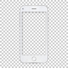 template phone white phone template with blank screen
