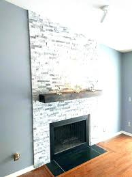 stone fireplace surrounds stacked for surround kits log burners diy facin