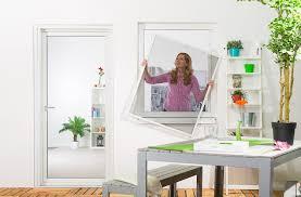 Fliegengitter Fenster Basic Aufgebaut Zuschnitt Alurahmen