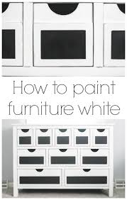 painting furniture whitePainting furniture white secrets to the perfect finish  Lovely Etc