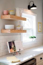 Shelf For Kitchen 17 Best Ideas About Floating Shelves Kitchen On Pinterest Open