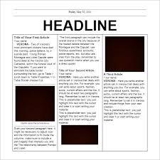word document newsletter templates newspaper template for microsoft word salonbeautyform com