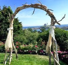 image of driftwood wedding arch arbor wedding ceremony arbor pertaining to wedding arbor diy wedding