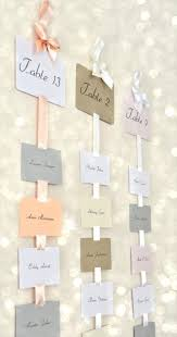 Wedding Seating Plan Place Cards With Table Number Seating