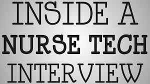 nursing school inside a nurse tech interview nursing school inside a nurse tech interview