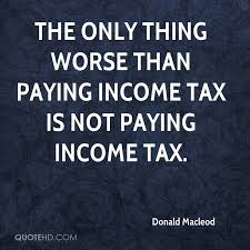 Tax Quotes Cool Donald Macleod Quotes QuoteHD