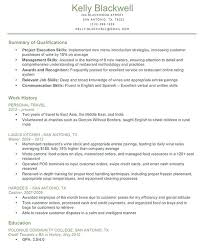 skills and qualifications resume skills qualifications for a resume  qualifications for a resume best resume gallery
