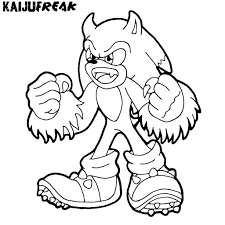 Free Printable Sonic The Hedgehog Coloring Pages For Kids 17672464