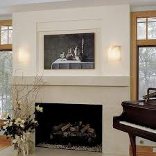 fireplace wall sconces. wall sconce ideas:mesmerizing sample fireplace sconces simple creation two white lamp shades wooden