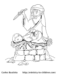 Small Picture Abraham And Isaac Coloring Page 8073 Within glumme