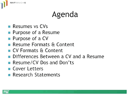 Difference Between A Cv And A Resume Resume Difference Between And ...