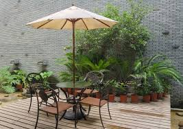 your patio umbrella from spinning