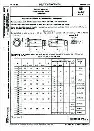 Din 1448 1 1970