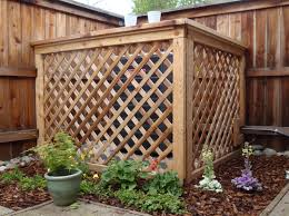 air conditioning covers outside. hide it.garbage cans/ central air unit / pool pump conditioning covers outside