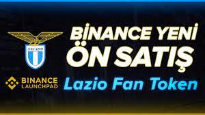 Binance Launchpad – Lazio Fan Token ÖN SATIŞI!! | Bi