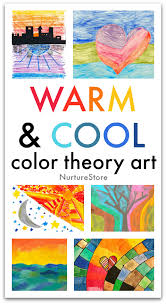 Colours games for children and esl students. Warm And Cool Color Theory Art Lesson For Kids Nurturestore