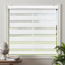Cordless Celestial Sheer Double Layered Light Filtering Shade