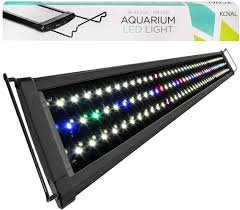 36 Aquarium Light Amazon Com Koval 129 Led Aquarium Light Hood With