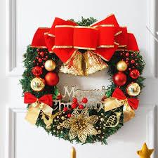 New 30cm Christmas Wreath Decoration Door Hanging Christmas Rattan  Ornaments Rattan Ring Toy Decoration Christmas Wreaths Christmas Toy  Christmas Decoration ...