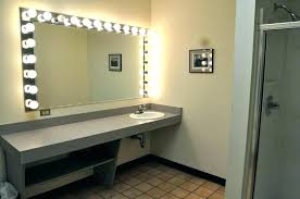 bathroom mirrors with lighting. Bathroom Mirrors With Lights Mirror Light Bulbs Around It Full Image For Vanity Lighting
