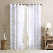 white sheer panels. Modren Panels Madison Park Vina Sheer Bird Curtain Panel For White Panels