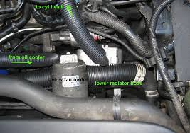 engine coolant block heater installation on tdi frostheater vw here is a picture of where to drill the mounting hole it s location is near the 4th spot weld on the front frame the welds are the small circular spots