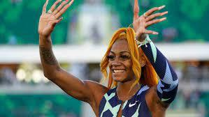 Suspended sprinter Sha'Carri Richardson ...