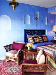 moroccan inspired furniture. Inspiring 66 Mysterious Moroccan Bedroom Designs With Blue Wall Bed Pilloe Blanket Nightstand And Purple Inspired Furniture N