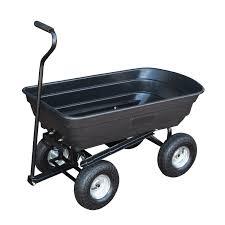 garden cart. Tipping Garden Cart