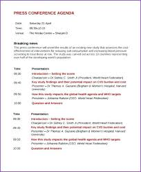 Draft Agenda Template Sample Conference 7 Documents In Word Fresh ...