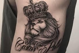 значение тату лев смысл татуировки для женщин и мужчин