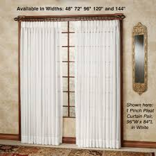 Window Treatments Metal Doors Sheer Curtains Window Treatments Touch Of Class
