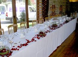 top table decoration ideas. Rose Embellish Table Decoration With The Petals Of Roses And Confetti Ideas Top T