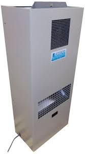 Side-mount electrical cabinet air conditioner / industrial ...