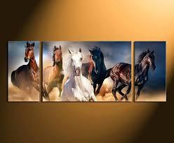 horse canvas wall art 3 piece canvas photography home decor horse multi panel canvas wildlife group on 3 piece canvas wall art canada with horse canvas wall art 3 piece canvas photography home decor horse