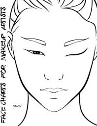 Facecharts For Makeup Artists Stacy Paperback