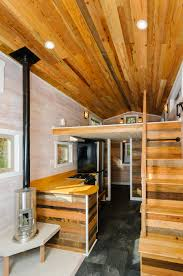 TheMHwishbonetinyhomes A  Square Feet Tiny House On - Tiny house on wheels interior