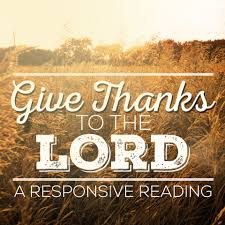 Image result for people in church giving thanks