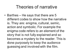 narrative definition a story that describes a sequence of  7 theories