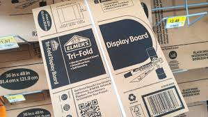 tri fold board size diy no sew travel scrapbook journal with elmers tri fold display