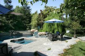 Example of a classic custom-shaped pool design in Los Angeles